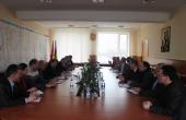 Ședință de lucru la Consiliul Raional Cahul