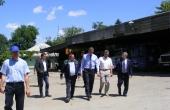 Vizita de lucru a Președintelui Parlamentului la sediul Î.M. Apă-Canal Cahul