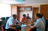 Întâlnire cu reprezentanții băncii KFW la sediul I.M Apa-Canal Cahul