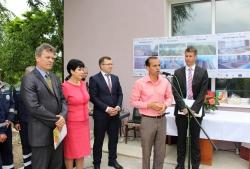 Inaugurarea Stației de tratare a apei potabile din or. Cahul