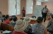 """La data de 13 august sa organizat \""""Cafenea Publică\"""" în satul Hutulu, com. Lebedenco"""